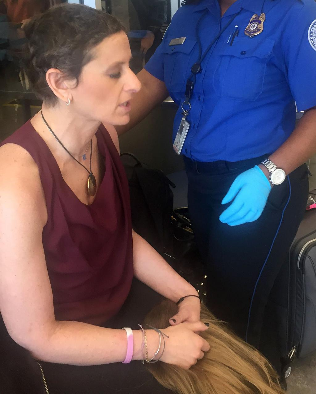 TV Host with Breast Cancer Was        Overwhelmed and Upset and Humiliated      '  By Tsa Body Search