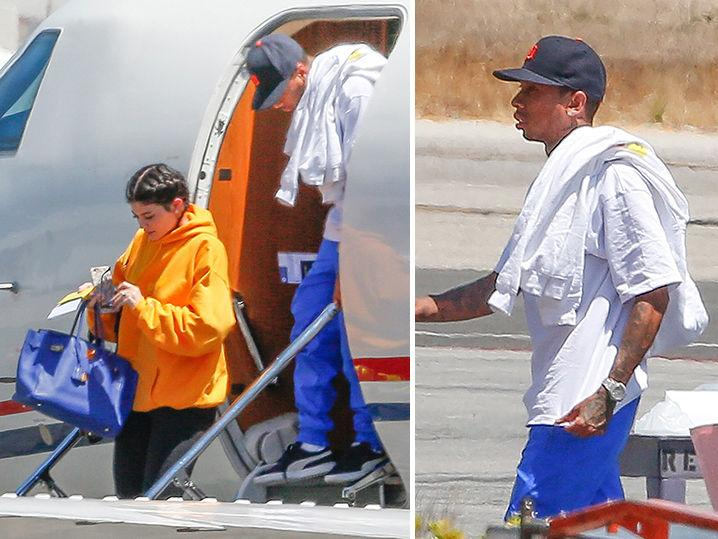 Tyga & Kylie -- Bonnie and Clyde Birthday Trip Over ... Back in L.A. (Photo)