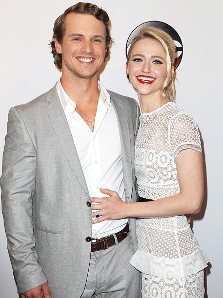 UnREAL Stars Freddie Stroma and Johanna Braddy Are Engaged!