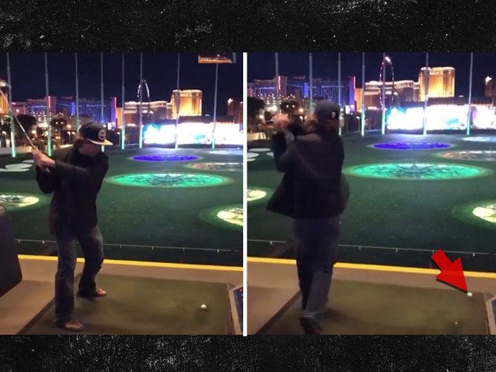 Urijah Faber Sucks at Golf (Update: Redemption Shot)