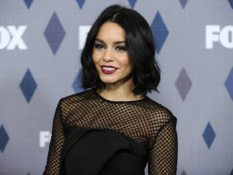 Vanessa Hudgens Visits Father's Grave With Her Mother