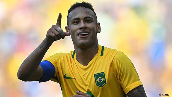 Video: Watch Neymar net the fastest goal in Olympic history to take host nation Brazil into football final