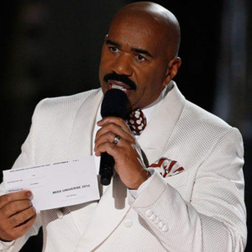 Was Steve Harvey's Miss Universe Flub for Publicity? He Clea