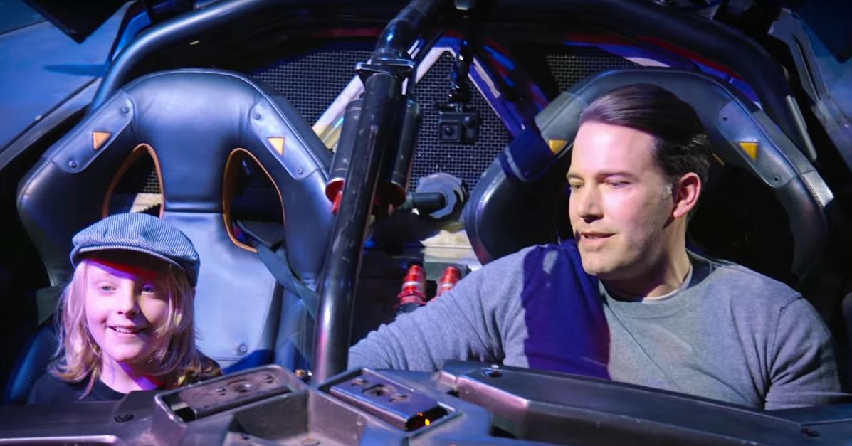 Watch Ben Affleck Hilariously Surprise Fans in the Batmobile