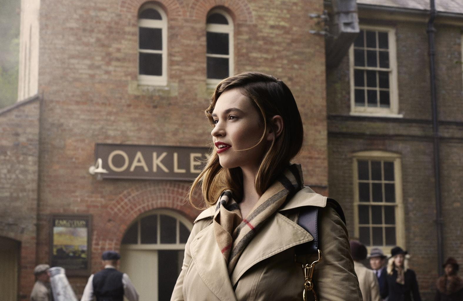 Watch Lily James, Dominic West and More Stars in Burberry  's Holiday Campaign Video