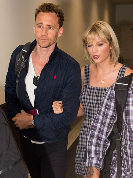 Welcome to Oz! Taylor Swift and Tom Hiddleston Arrive in Australia Arm in Arm