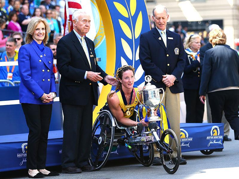 Wheelchair Racing Sensation Tatyana McFadden Muscles Her Way