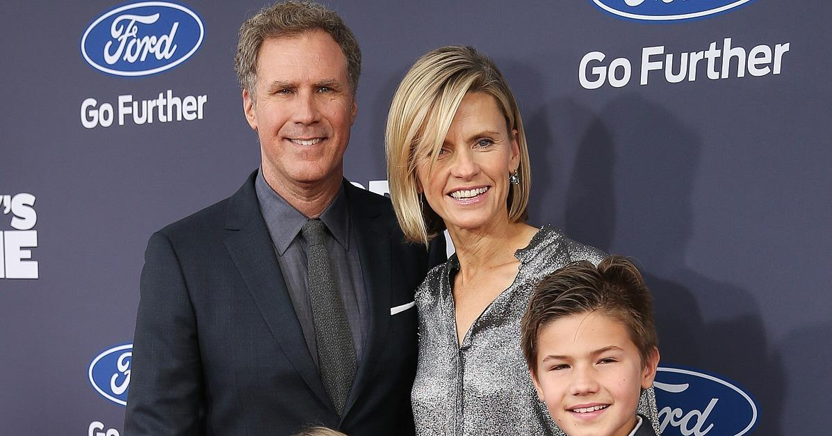 Will Ferrell Turns His Big Premiere Night Into a Sweet Famil