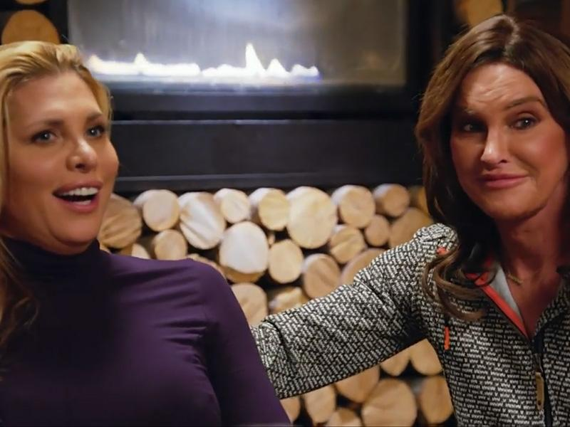 Will They or Won't They? Caitlyn Jenner Is Dared to Kiss Can