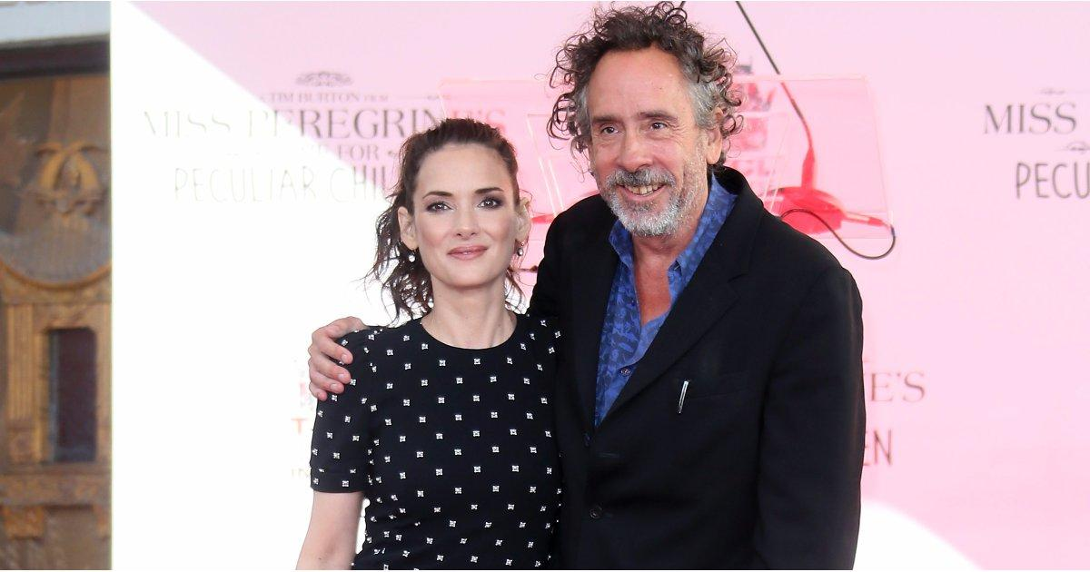 Winona Ryder Showed Up at Tim Burton's Handprint Ceremony After He Said Her Name 3 Times