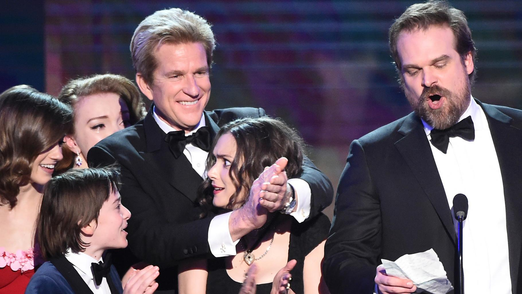 Winona Ryder  's Facial Expressions Steal the Show at SAG Awards