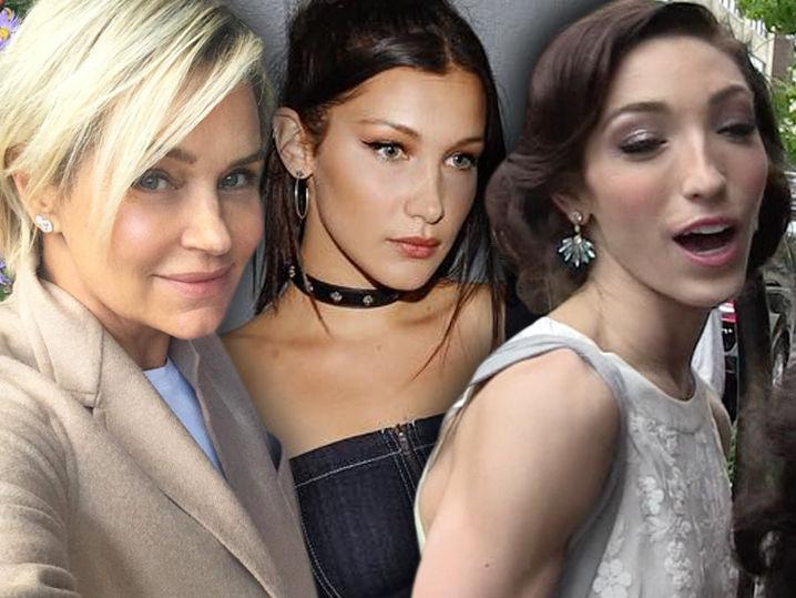 Yolanda Hadid to Hater/Olympian -- Bella Was a Real Deal Athlete Before Lyme Disease