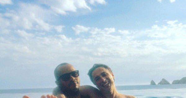 Zach Braff's Birthday Weekend With Scrubs Co-Star Donald Fai