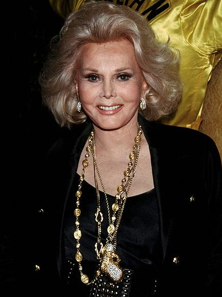 Zsa Zsa Gabor Hospitalized for Lung Infection After Celebrat