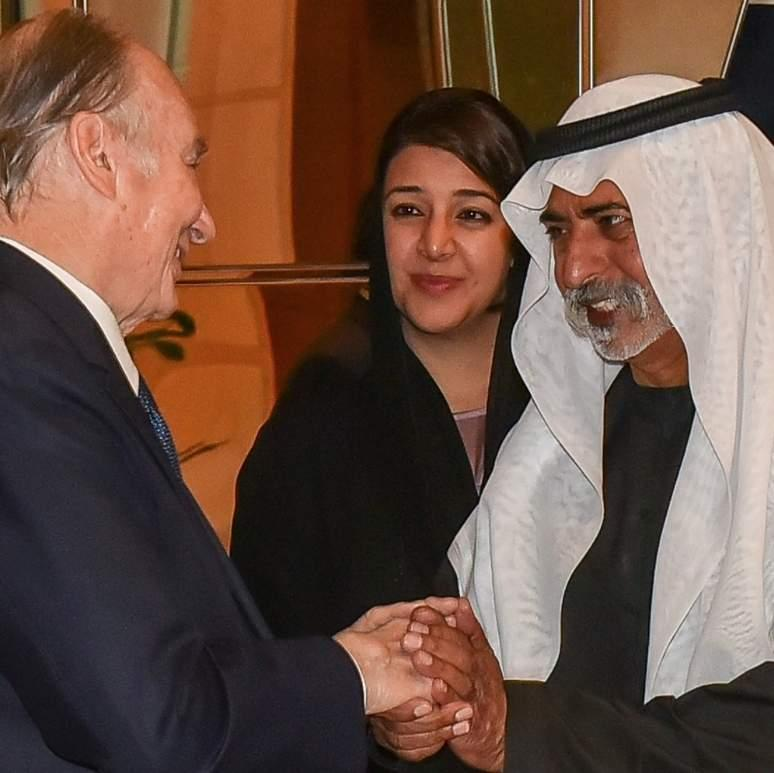 Spiritual leader Aga Khan arrives in Dubai