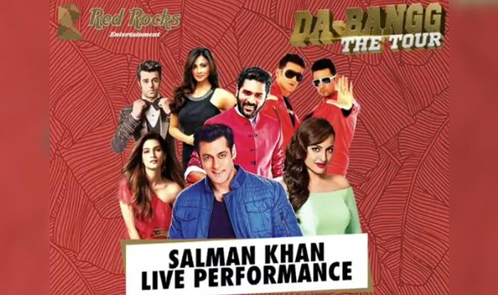 Dabangg Tour Delhi Salman Khan Kriti Sanon Sonakshi Sinha Daisy Shah Prabhu Deva Getting Ready To Set The Stage On Fire Videos