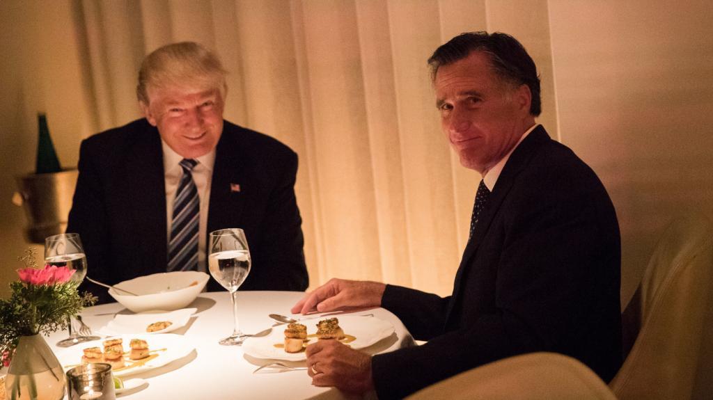 Mitt Romney Takes Veiled Swipes At Trump in Senate Run Announcement