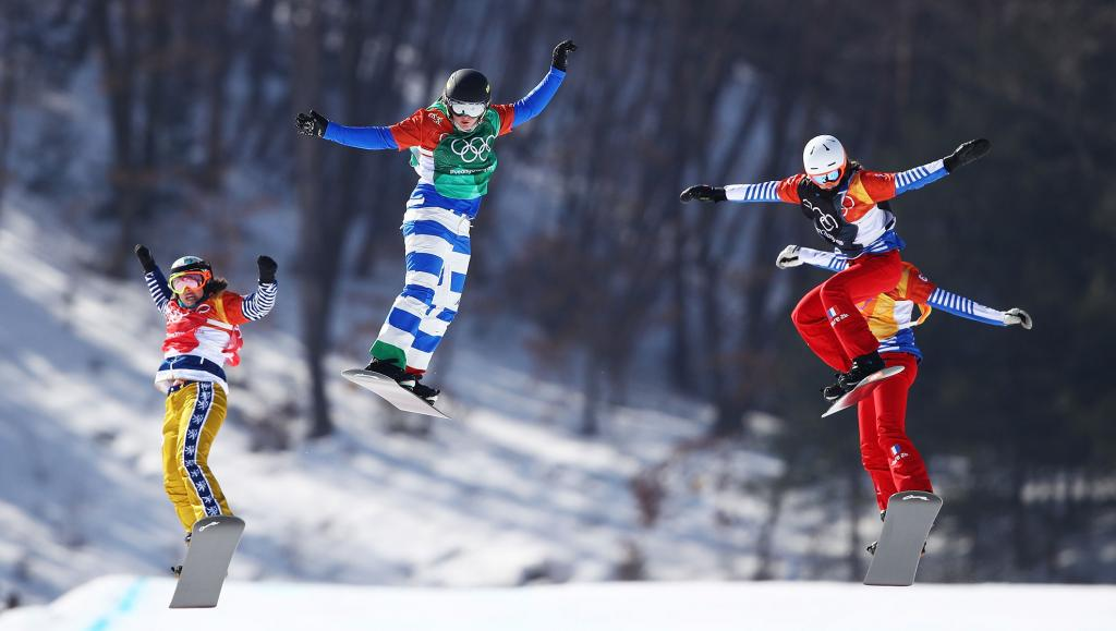 Moioli wins womens snowboard final which had it all