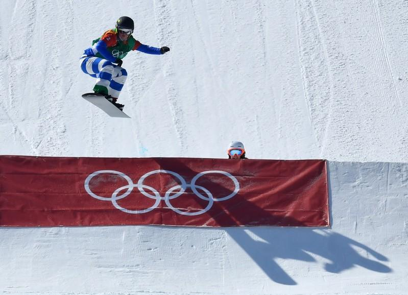 Snowboarding Moioli claims gold after dramatic snowcross final