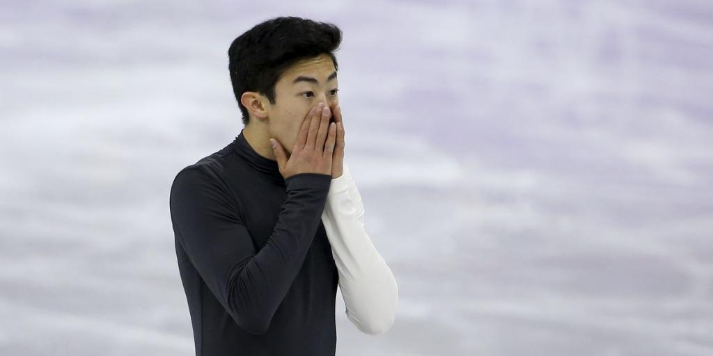 Team USAs Most Hyped Figure Skater Went Down 3 Heart Breaking Times During His Short Program