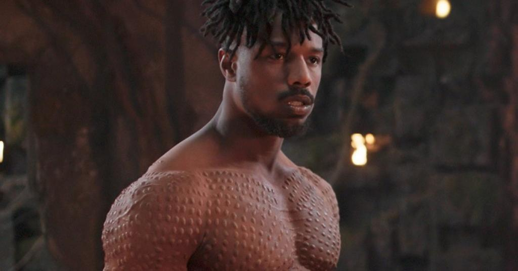 Heres How Michael B Jordan Got Jacked AF For His Role in Black Panther