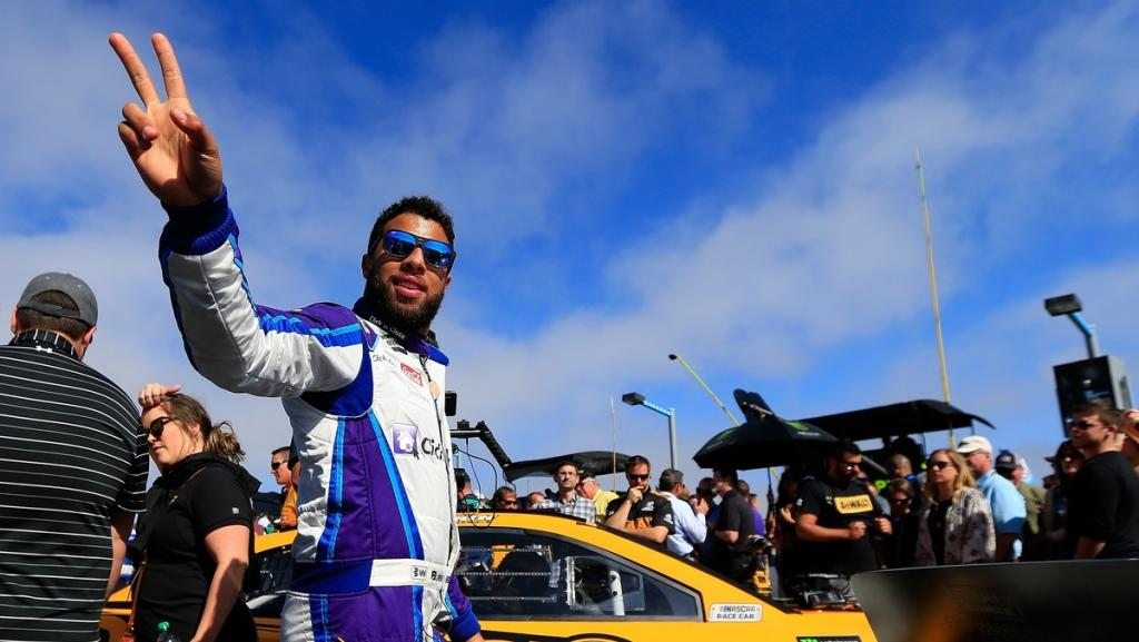 Bubba Wallace overcome with emotion after finishing 2nd in Daytona 500
