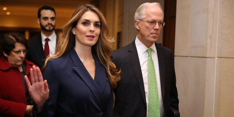 We got Bannoned Hope Hicks testified before the House Intel Committee in the Russia investigation