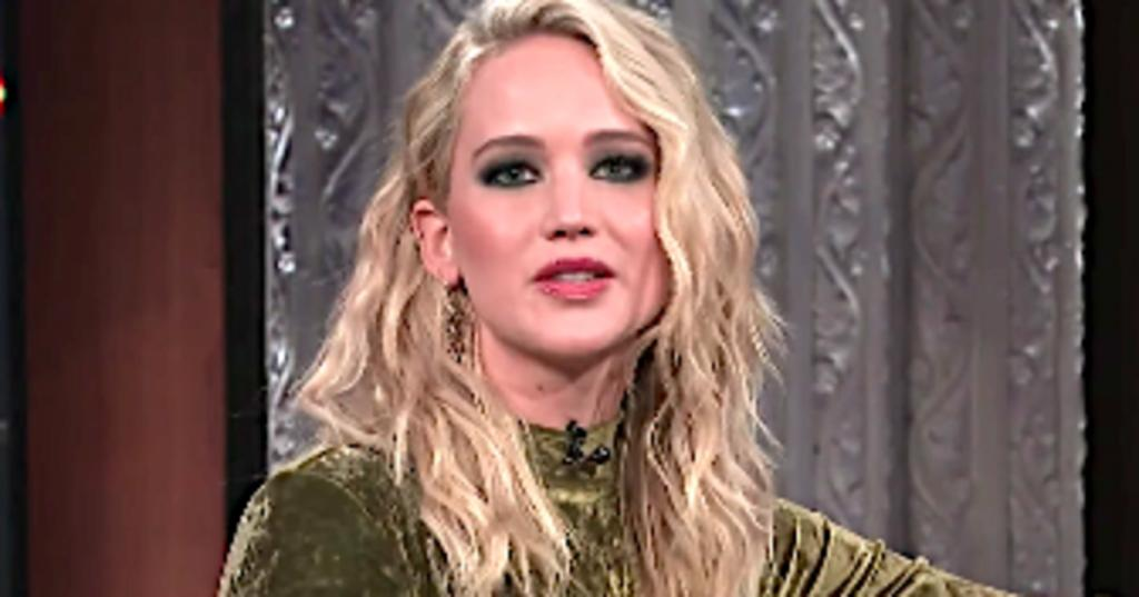 JLaw Gets Drunk With Colbert And Blasts Horrible Ass Boil Harvey Weinstein