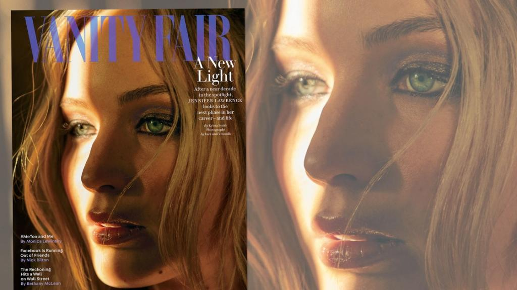Cover Story Jennifer Lawrence a New Light