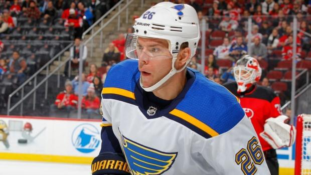 Jets acquire Paul Stastny from Blues CBC Sports