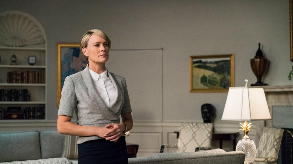 House of Cards Trailer Goodbye Kevin Spacey Hello Robin Wright