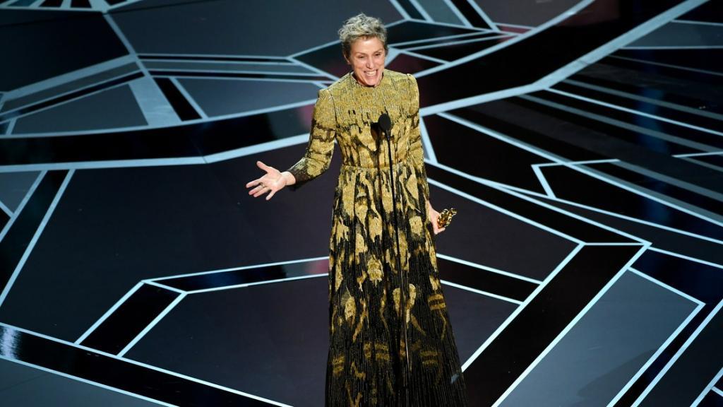 Frances McDormand Makes the Oscars Weird Again