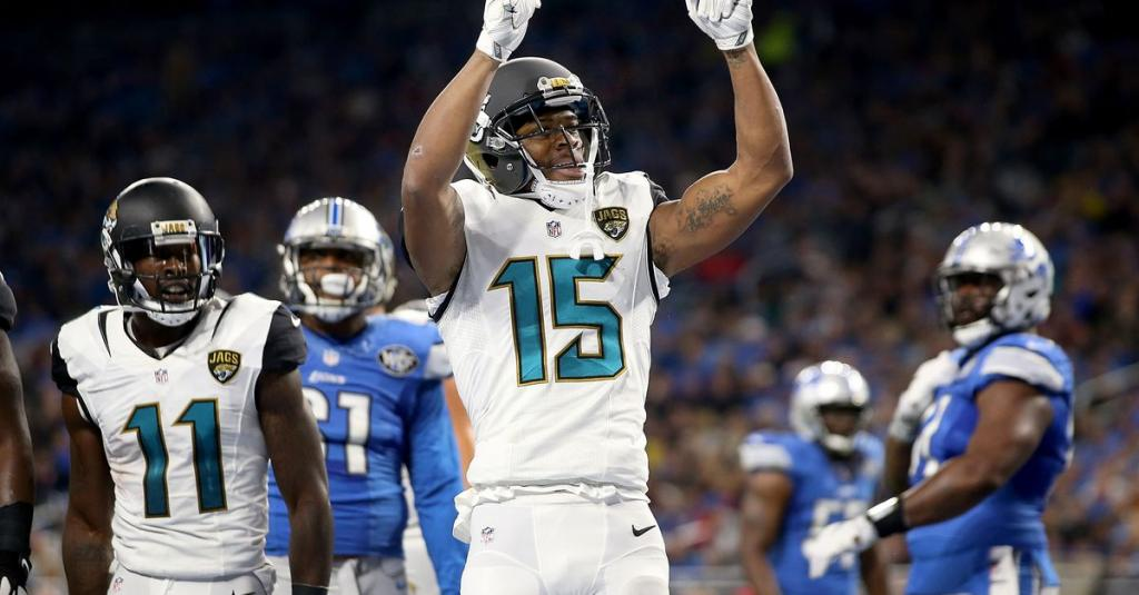 Jaguars don       't use franchise tag on Allen Robinson: Was it the right move?
