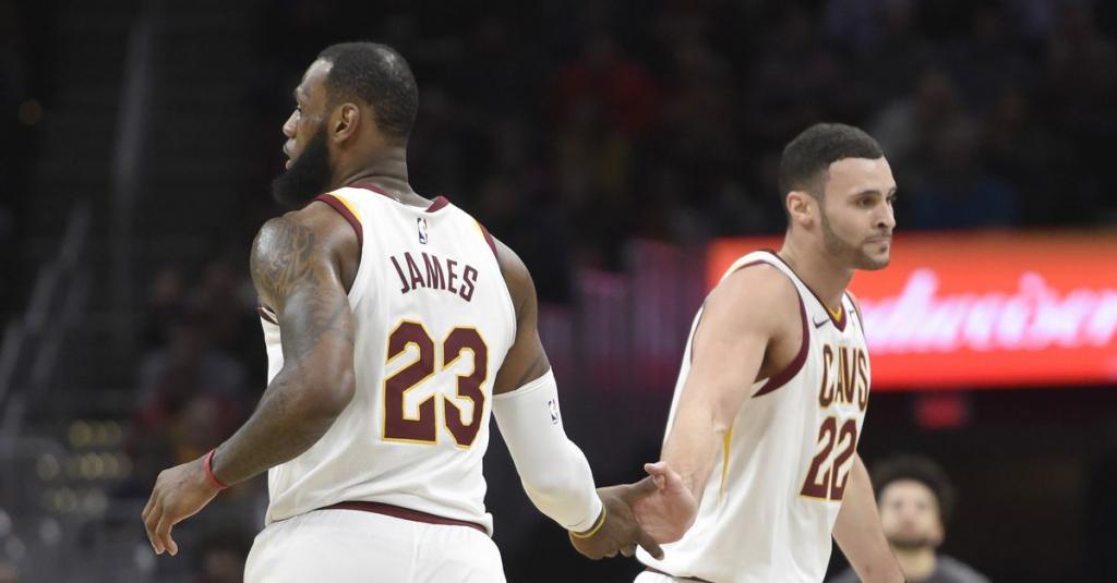 NBA ICYMI The Cavs Get a JumpStart From a New Starter