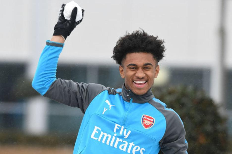 Arsenal starlet Reiss Nelson apologises after vulgar tweet directed at Dele Alli