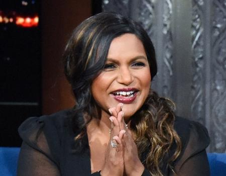 Mindy Kaling Teases Stephen Colbert Over His OldFashioned Baby Gift