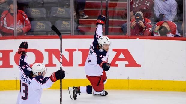 Artemi Panarin scores OT winner as Blue Jackets come back to beat Capitals