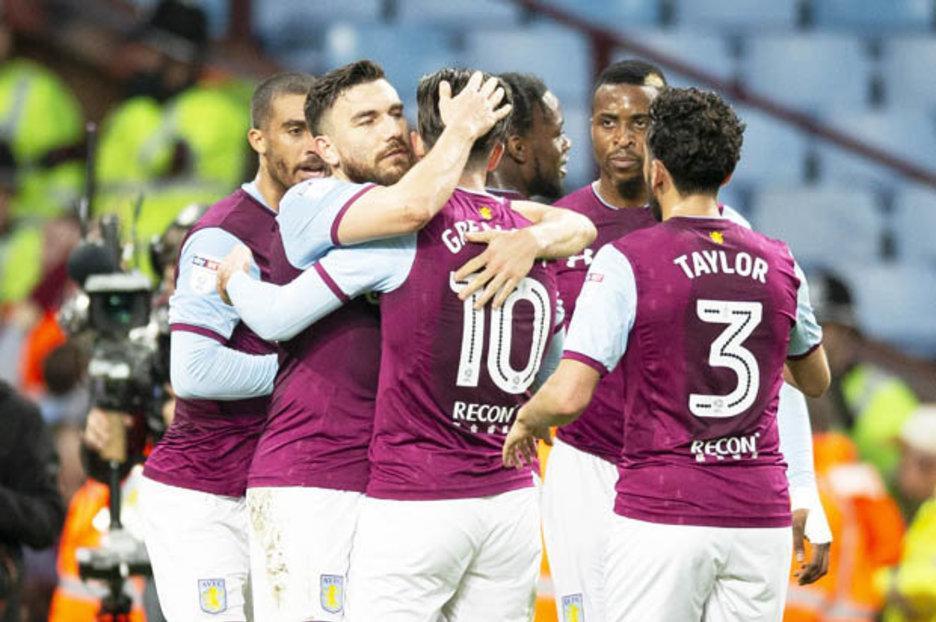 Aston Villa 1 Leeds 0 Lewis Grabban scores winner to keep promotion push going