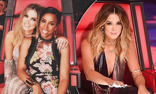 Delta Goodrem gushes over her Voice costar Kelly Rowland