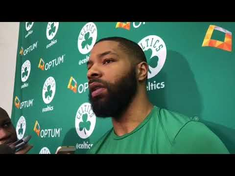 Boston Celtics Marcus Morris not with all the antics believes Celtics have been counted out too early