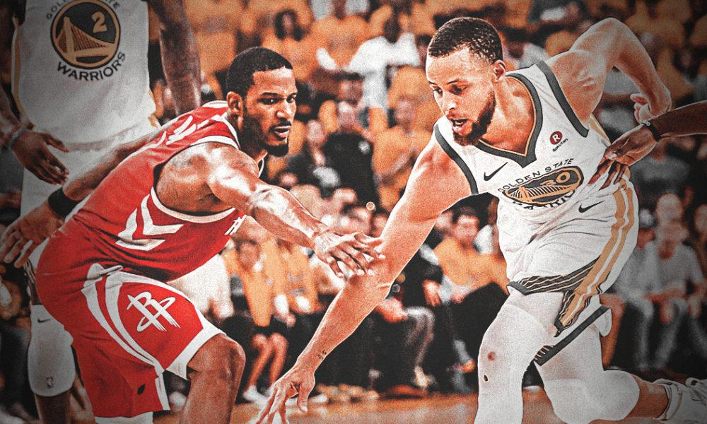 The Unlikely Moment Stephen Curry Shared With A Rockets Player During Game 6