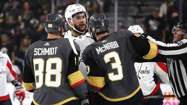 Caps Tom Wilson in hot water again for hit on Marchessault CBC Sports