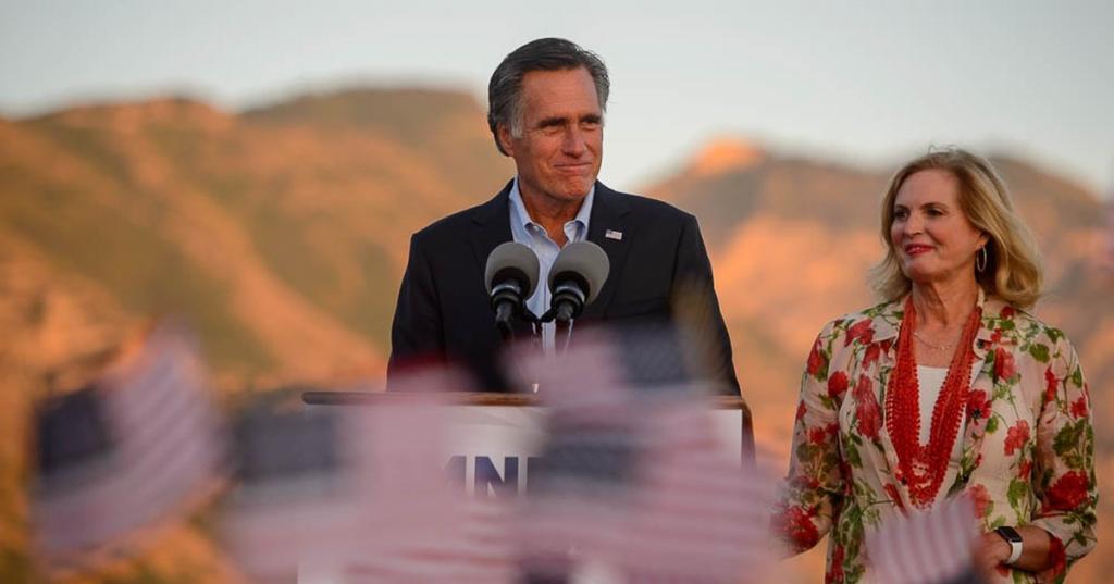 Mitt Romney wins the GOP nomination in Utahs US Senate race