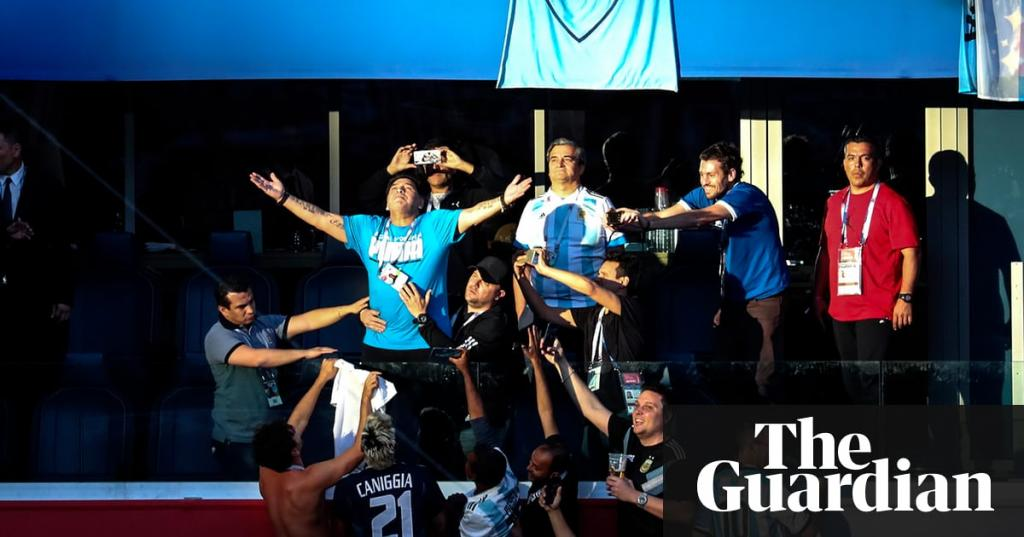 Diego Maradona lives like he played with blatant disregard for the rules and norms