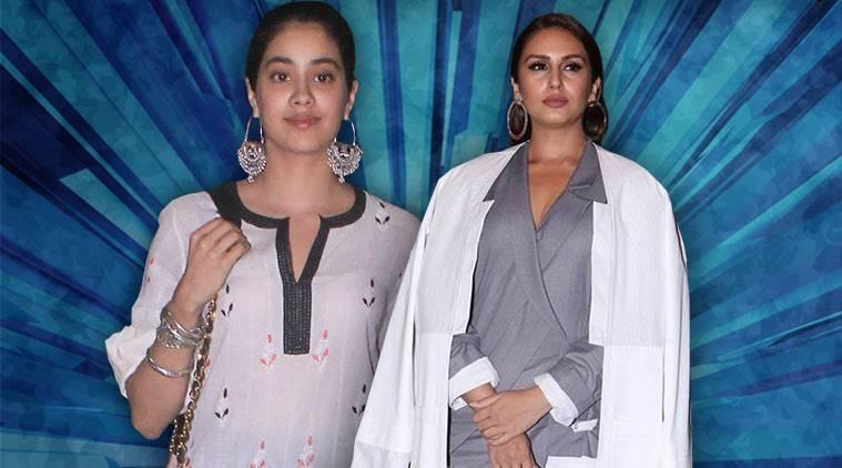 Bollywood Fashion Watch for July 3 Janhvi Kapoor wins brownie points for her stunning sartorial choices so does Huma Qureshi