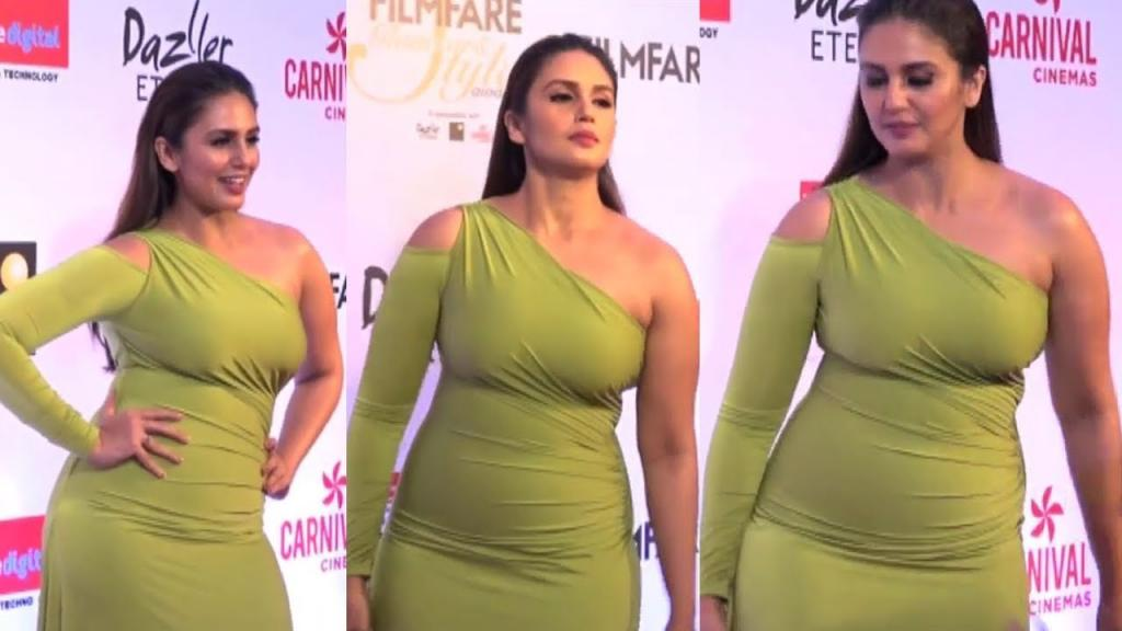 Video - Huma Qureshi STUNNING At Filmfare Glamour And Style Awards 2017