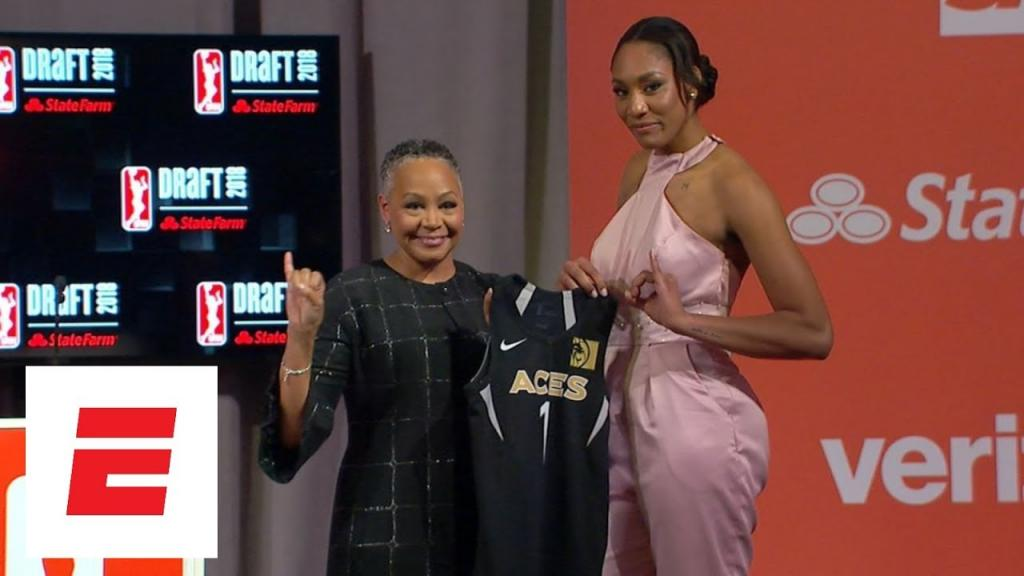 Video - Aja Wilson taken No 1 overall in WNBA draft by Las Vegas Aces ESPN