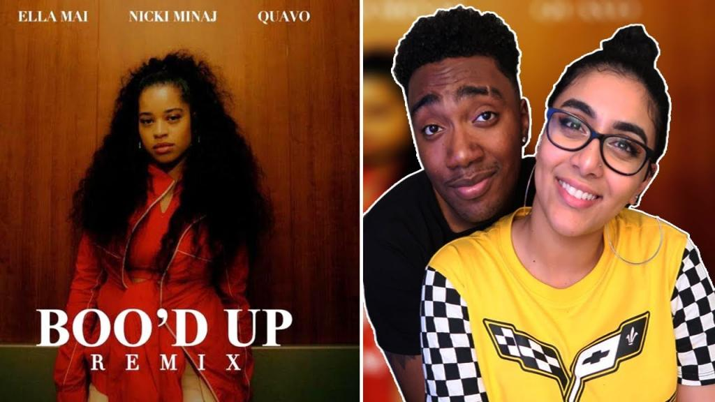 Video - Ella Mai Bood Up Remix ft Nicki Minaj Quavo COUPLE REACTION NICKI QUAVO DATING