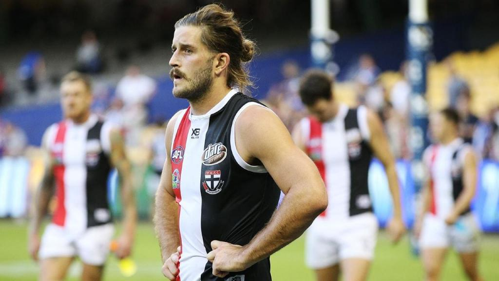 St Kilda pair Josh Bruce Jake Carlisle both suffer injuries at training