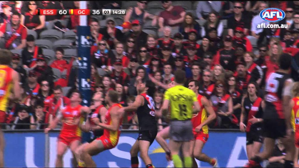 Video - Jake Carlisle AFL Mark of the Year Round 22